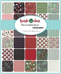 Kringle Claus Charm Pack, Basic Grey by Moda