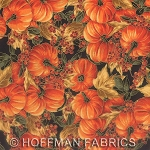 Maple Lane L7321 4G Black Gold Small Pumpkins, Hoffman