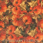 Maple Lane L7321 6G Brown Gold Small Pumpkins, Hoffman
