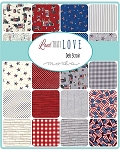 Land That I Love Charm Pack, Deb Strain by Moda