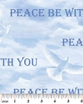 Peace Heavenly Blue 4885 55 Bible Study, Kanvas