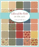 Lilies of the Field Jelly Roll, Jan Patek by Moda