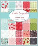 Little Snippets Jelly Roll, Bonnie & Camille by Moda