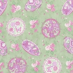 A Little Romance Parasols Mint, April Cornell by Moda