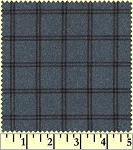 Maywood Flannel Woolies F18127 N Double Windowpane