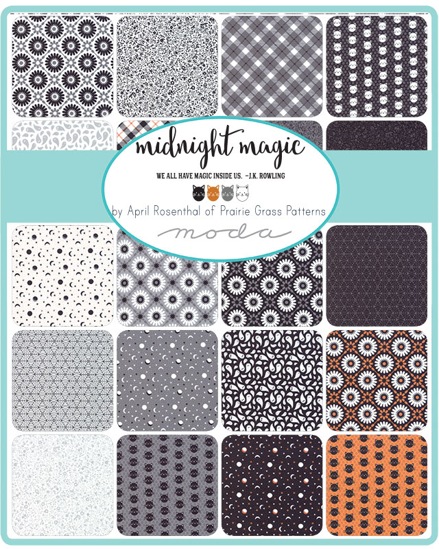 Midnight Magic Jelly Roll, April Rosenthal