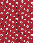 Mini Soccer Balls C1892 Red, Timeless Treasures