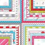 Sew Stitchy Jelly Roll, Aneela Hoey by Moda