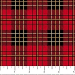Mountain Lodge Flannel F20571 24 Plaid Red, Northcott