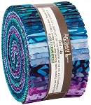 Natural Formations Batik Jelly Roll Strips, Kaufman