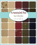 On Meadowlark Pond Fat Quarter Collection, Kansas Troubles by Moda