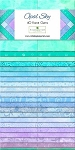 Gems Opal Sky Essential Jelly Roll Strips, Wilmington Prints