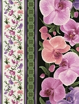 Orchid Stripe C3210 Multi, Timeless Treasures