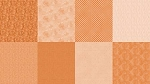 Spectrum Digital Fat Quarter Panel Q4481 152 Tangerine, Hoffman