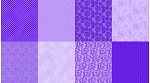 Spectrum Digital Fat Quarter Panel Q4481 45 Grape, Hoffman