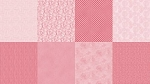 Spectrum Digital Fat Quarter Panel Q4481 630 Ballet Pink, Hoffman