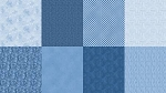 Spectrum Digital Fat Quarter Panel Q4481 65 Denim, Hoffman