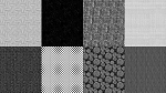Spectrum Digital Fat Quarter Panel Q4481 669 Noir, Hoffman