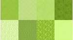 Spectrum Digital Fat Quarter Panel Q4481 71 Lime, Hoffman