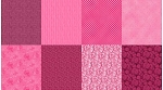 Spectrum Digital Fat Quarter Panel Q4481 72 Magenta, Hoffman
