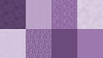 Spectrum Digital Fat Quarter Panel Q4481 91 Amethyst, Hoffman