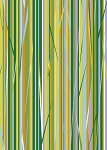 Clothworks Quilt MN 2014 Shop Hop Y1495 24 Skinny Stripe Green