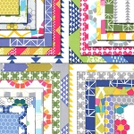 Quilt Blocks Jelly Roll Ellen Baker by Moda