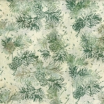 Bali Batik R2205 20 Natural Pine Cone Needles, Hoffman