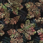 Bali Batik R2232 567 Cider Oak Leaves, Hoffman