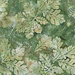 Bali Batik R2232 141 Pine Oak Leaves, Hoffman