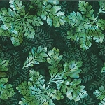 Bali Batik R2232 548 Balsam Oak Leaves, Hoffman