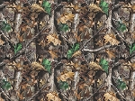 Realtree Flannel 10023 Brown Trees, Print Concepts