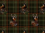 Realtree Flannel 10026 Deer Plaid, Print Concepts