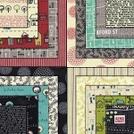Road 15 Charm Pack, Sweetwater by Moda