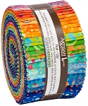 Round and Round Batik Jelly Roll Strips, Kaufman