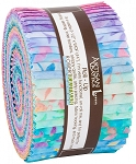 Serendipity Batik Jelly Roll Strips, Kaufman
