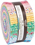 Southern Belles Jelly Roll Strips, Kaufman