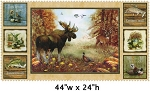 Mountain Woods 4364239 54 Mul1 Moose Panel , Spectrix