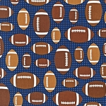 Sports Life II 13967 9 Footballs Navy, Kaufman