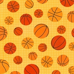 Sports Life II 13968 133 Basketballs Yellow, Kaufman