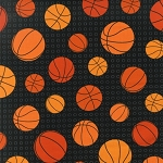 Sports Life II 13968 2 Basketballs Black, Kaufman