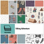 Viking Adventure 10 Inch  Squares, Lewis and Irene