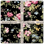 Wild Rose Flannel 10 Inch Squares, Maywood Studio