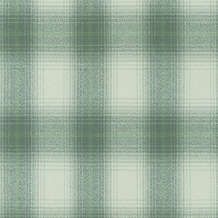 Mammoth Flannel 19665 34 Sage Plaid Robert Kaufman Fabrics
