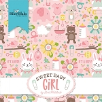 Sweet Baby Girl Layer Cake Squares, Riley Blake