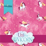 Uni the Unicorn 10 Inch Layer Cake Squares Riley Blake