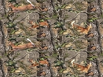 Realtree 10161 FLANNEL Deer Forest, Print Concepts