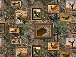 Realtree 10084 Wildlife Frames Allover, Print Concepts