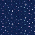 Cresendo 10255P 11 Pearlized Night Sky Navy Benartex