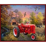 Farmall Country Living Tractor Panel 10293X, Sykel